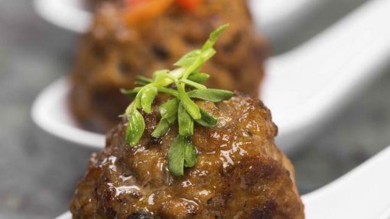 Boulettes apéritives bœuf et chorizo : pour quatre personnes