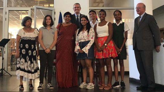 Concours d'éloquence en langue française : six élèves récompensés