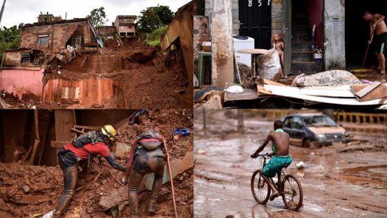 [En images] Violente tempête au Brésil : au moins 44 morts