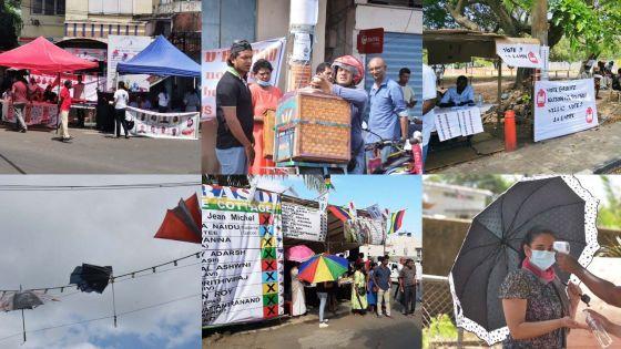 [En images] Élections villageoises : un dimanche haut en couleur
