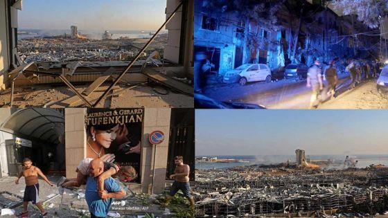Explosions à Beyrouth: plus de 100 morts (Croix Rouge libanaise)