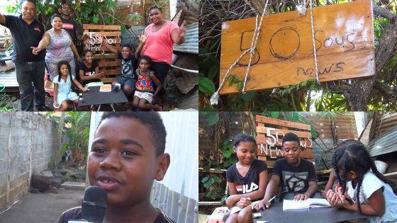 50 sous news : des enfants de Cassis réalisent leur journal télévisé