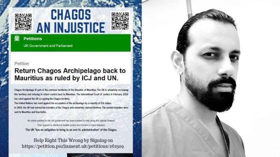 Le combat d'un médecin mauricien établi en Angleterre en faveur des Chaogossiens