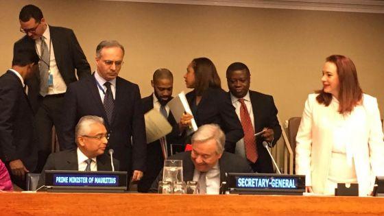 New York : Pravind Jugnauth évoque le dossier Chagos et parle de «crime contre l'humanité»