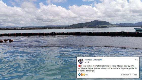 «13 jours pour qu'un ministre reconnaisse le risque de gravité», réagit le député européen Younous Omarjee