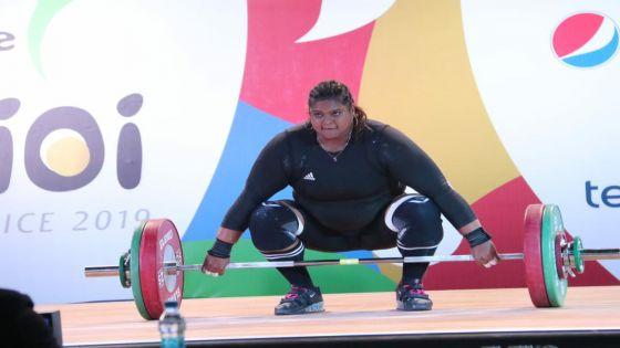 JIOI - Haltérophilie : Shalinee Valaydon s'arrache pour soulever l'or