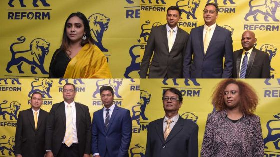 Législatives 2019 : découvrez les 37 candidats du Reform Party