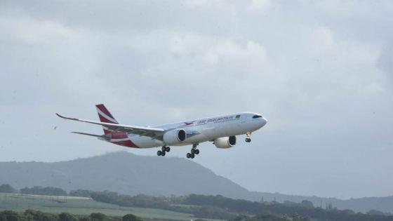 [En images] Le second A330neo d'Air Mauritius, baptisé Chagos Archipelago, a atterri à Maurice