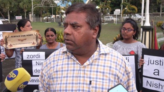 Marche pacifique en hommage à Nishi :   «Nous lancerons une association pour aider les victimes de harcèlement au travail», dit son père
