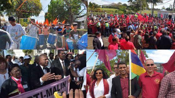 [En images] Nomination Day : le côté folklorique respecté