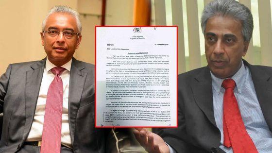 Allégations entourant l'achat d'une propriété : le PM répond à Boolell