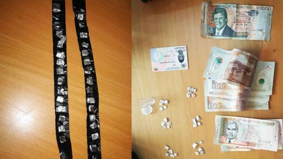 Opération 'crackdown' à Curepipe  : perquisitions, arrestations, drogue et argent saisis