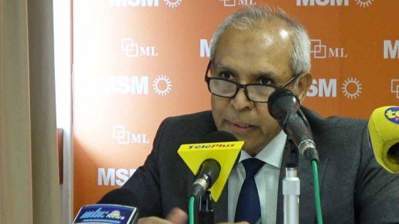 Anwar Husnoo : «Il est regrettable de voir la façon d'agir de Shakeel Mohamed lors des élections dans la circonscription no 3»