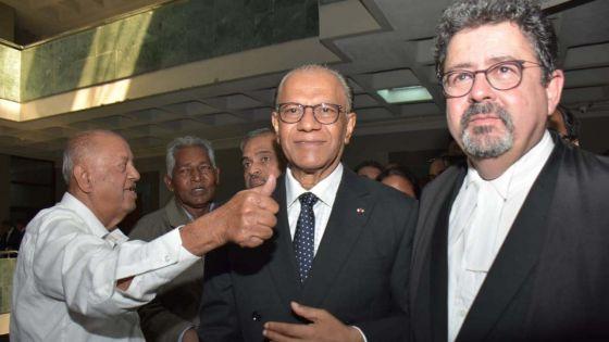 Accusation rayée dans l'affaire Roches-Noires : «Ena enn bondie pou PTr» affirme Ramgoolam