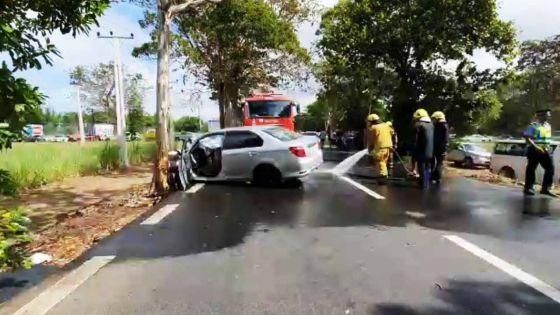 A Pont-Blanc, Flacq : deux accidents au même endroit en l'espace de 12 heures, dont un mortel