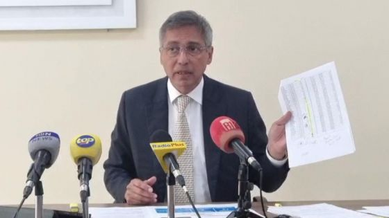 PNQ : suivez la conférence de presse du leader de l'opposition, Xavier Duval au Newton Tower.