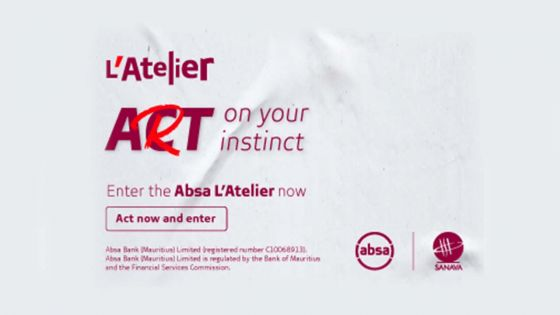 [Sponsored content] Visual arts competition: Absa L'Atelier challenges Mauritian artists to 'Act on their Art'