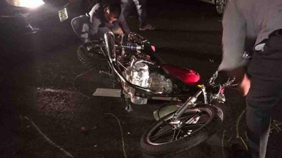Camp-Ithier, Flacq : accident impliquant trois motos et une voiture, deux blessés graves