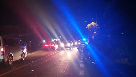 Petite-Rivière : Un motocycliste meurt lors d'une collision avec un bus
