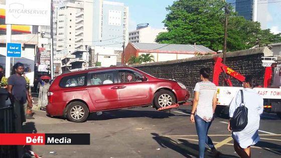 Accident près des Casernes centrales : un des piétons décède après quatre jours d'hospitalisation