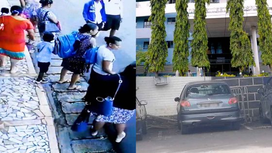 Sur le chemin de l'école, à Beau-Bassin : grand-mère et petit-fils frôlent la mort dans un accident