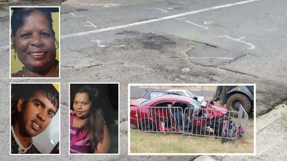 Mère, fils et belle-fille tués dans un accident à Plaine-des-Roches : leurs proches sous le choc