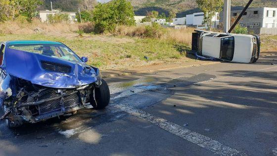 Cascavelle : deux véhicules impliqués dans un accident