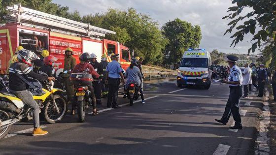Résidence Valllijee : Un motocycliste décède dans une collision