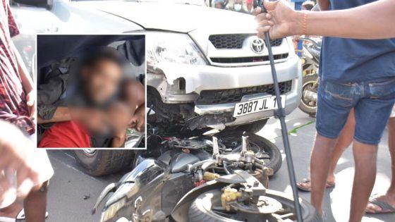 Vallijee : accident en face de la maison où un cadavre a été découvert dans un congélateur
