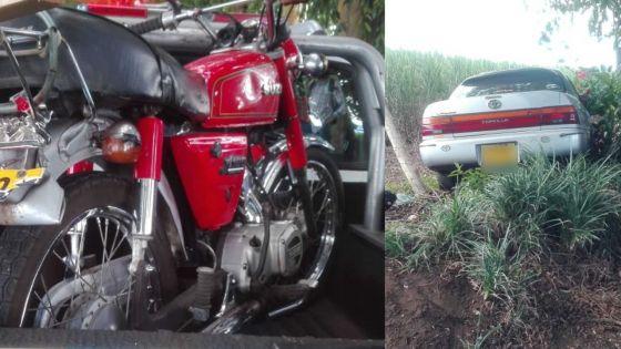 Villebague : triste fin pour un motocycliste de 67 ans