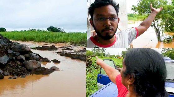 Fond-du-sac : la montée des eaux ravive de douloureux souvenirs