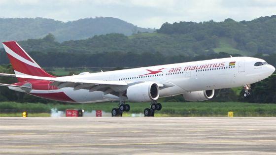 Air Mauritius : le nouvel avion, l'A330-900neo, baptisé Aapravasi Ghat, a atterri à Plaisance