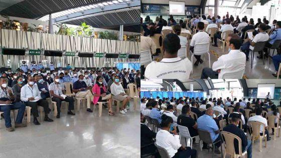 Réouverture partielle des frontières : formation au protocole sanitaire pour les professionnels de l'aviation