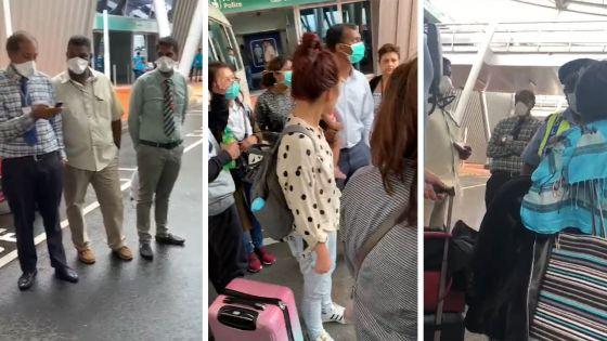 Coronavirus : le dernier vol en provenance de Hong Kong a atterri, des passagers en colère