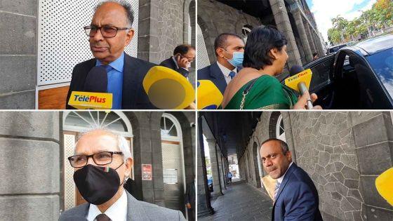 Allégations contre Sawmynaden : réactions laconiques de collègues ministres