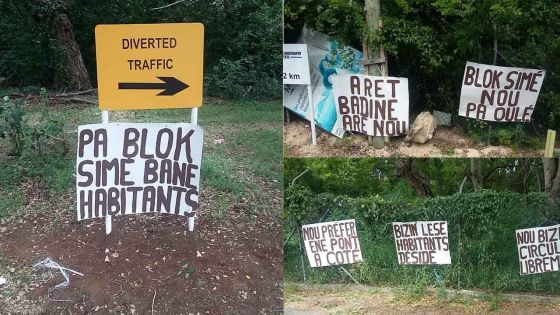 Albion : manifestation d'habitants et mouvement de grogne pour réclamer de nouvelles infrastructures