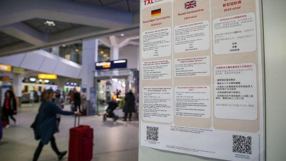 Contamination au coronavirus entre humains en Allemagne