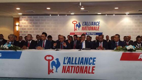Présentation des 60 candidats de l'Alliance Nationale : Ramgoolam confirmé au no 10