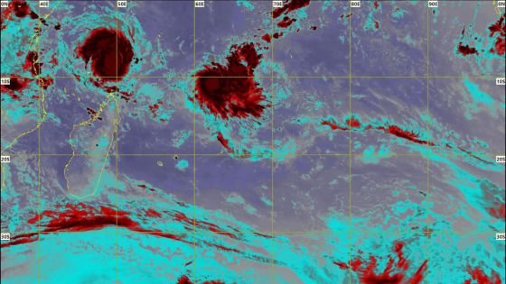 Cyclones : Ambali à 610 km d'Agalega, Belna au nord de Madagascar