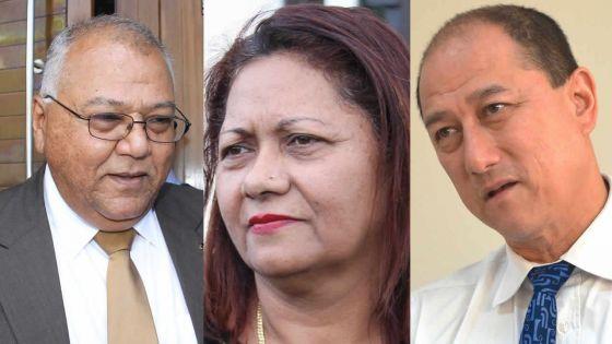 Trois nouveaux ambassadeurs : Mahen Jhugroo à Washington, Marie-Claire Monty en Australie et Alain Wong en Chine