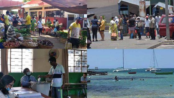 [En images] Les villages au rythme des élections
