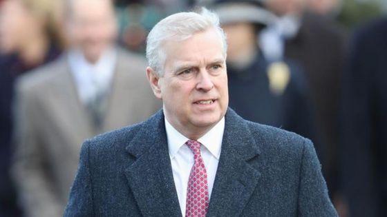 GB: le prince Andrew «consterné» par les accusations d'abus sexuels