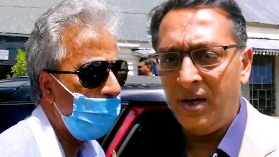 Angus Road : Arvin Boolell et Roshi Bhadain portent plainte au CCID contre un ex-membre du Reform Party