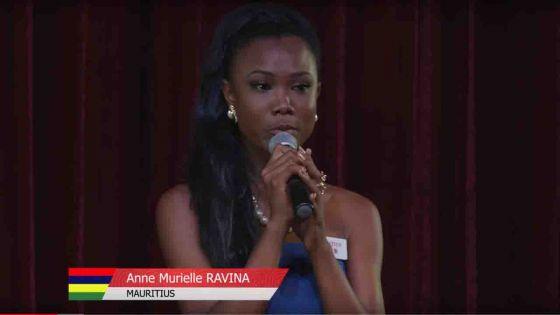 Miss World 2018 : Anne-Murielle Ravina obtient haut la main sa place parmi les 30 finalistes
