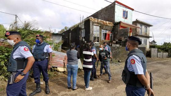 Cité-Anoska : la mère participe à une reconstitution des faits