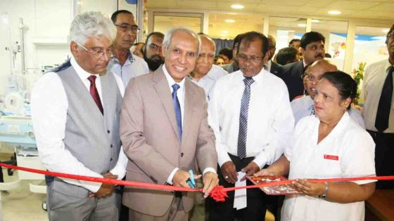 Dr A.G. Jeetoo Hospital gets a National Neonatal Intensive Care Unit