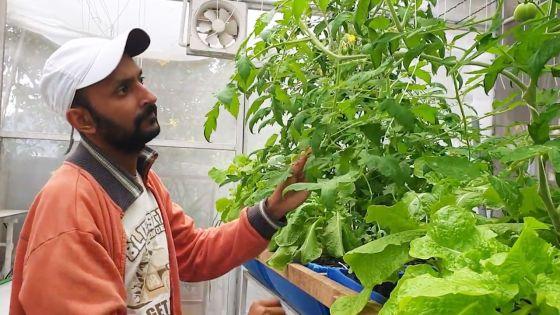 Hansraj Seechurn : endorsing aquaponicsfor a healthy living
