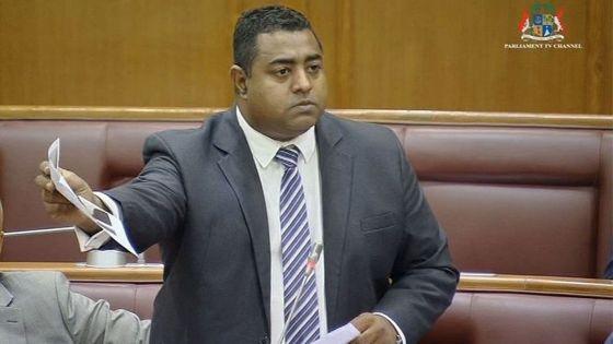 Whip de l'opposition : Patrice Armance succède à Shakeel Mohamed