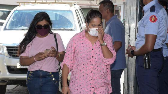 Simla Kistnen est arrivée au CCID ce samedi matin