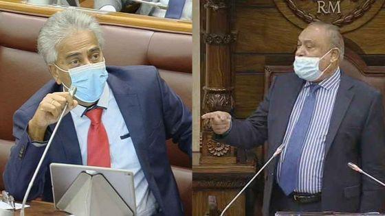 Parlement : Boolell suspendu pour les 8 prochaines séances et celle du jour